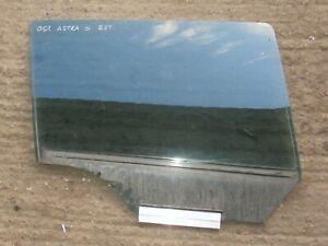 VAUXHALL ASTRA H WINDOW DOOR GLASS NSR PASSENGER REAR MK5 115 BHP 2008