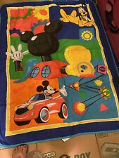 New listing Mickey Mouse Toddler Mat/ Comforter