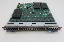 Cisco WS-X6148E-GE-45AT Cat6500 48-Port PoE+ ready 10/100/1000 RJ-45 Module