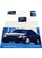 1997 Buick Park Avenue - Vintage Advertisement Car Print Ad J406