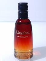 Mini Eau Toilette ✿ FAHRENHEIT by CHRISTIAN DIOR ✿ Perfume Parfum PARIS (10ml)