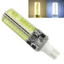 T10 194 921 LED Light Bulb 12V-24V 5W 72pcs 5730 SMD Silicone lamp White/Warm