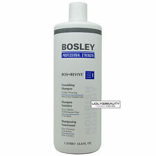 Bosley Bos Revive Shampoo 1 Liter / 33.8 FL. OZ. for Non Color-Treated Hair