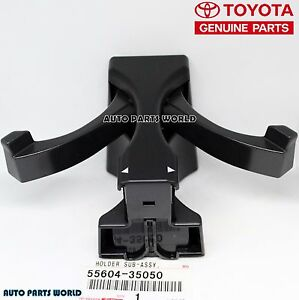 NEW GENUINE OEM TOYOTA 03-09 4RUNNER FRONT CONSOLE CUP HOLDER INSERT 55604-35050