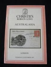 Christies Lowe subasta catálogo 1985 Australasia