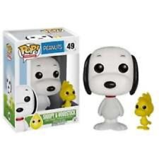 Funko POP! Animation SNOOPY and WOODSTOCK Number 49 Peanuts New Pop Protector
