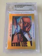 2014 Leaf Stan Lee Todd McFarlane 1/1 BGS Spiderman Marvel Autograph Signature