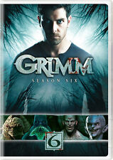 Grimm: Season Six (DVD, 2017, 4-Disc Set)
