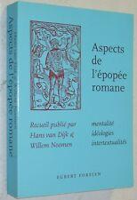H Van Dijk Willem Noomen ASPECTS DE L'EPOPEE ROMANE chansons de Geste Croisades