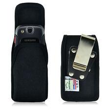 Turtleback Samsung Convoy 3 U680 Nylon Pouch Holster Phone Case, Metal Belt Clip