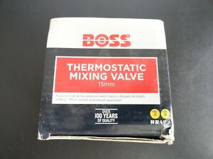 Boss 15mm Thermostatic Mixing Valve TMV2/3 with NRV & Strainers 690229