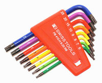 PB SWISS TOOLS 410 H 6-25.RB Stiftschlüssel für Torx ® Screwdriver Rainbow NEU