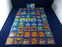 Lot Of 28 Disney Dominoes Paper Board 2005 Game Pieces
