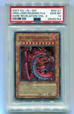 Yu-Gi-Oh! Dark Revelation 4 Ultra Uria, Lord of Searing Flames DR04-EN121 PSA 10