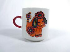 Villeroy & Boch Small Cup With Dog and Rooster