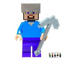 Spitzhacke 21130 21137 1x Steve Diamant Rüstung Hose LEGO® Minecraft Figur