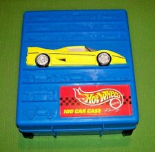 1997 Mattel Hot Wheels 100 Car Rolling Carrying Case EX - CASE ONLY