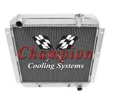 2 Row Perf Champion Radiator for 1958 - 1980 Toyota Land Cruiser V6 Engine
