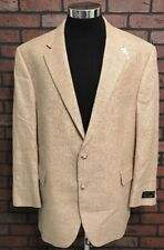 Jos. A. Bank Executive Sportcoat Camel Plaid New w/ Tags Silk Wool Gordon 48 Reg