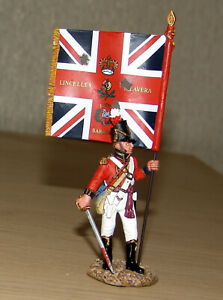 King & Country NA127 - Coldstream Guards Officer With Kings Colours