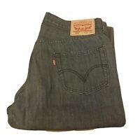 LEVIs Strauss and co 506 denim jeans W36 L34