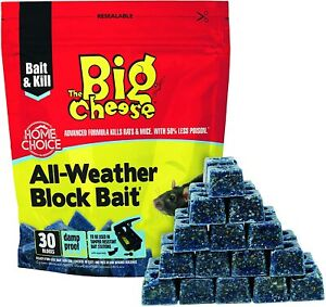 The Big Cheese All-Weather Block Bait 30 x 10g