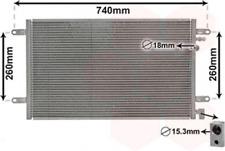 Kondensator, Klimaanlage für Klimaanlage VAN WEZEL 03005237