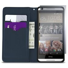 CoverON® for HTC Desire 626 / 626S Wallet Case - Teal / Navy Credit Card Cover