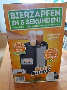 BEER BUDDY Bottoms Up Beer Bierzapfanlage Zapfanlage für alle 5 L Party Fässer