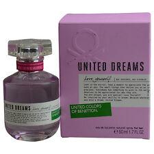 Benetton United Dreams Love Yourself by Benetton EDT Spray 1.7 oz