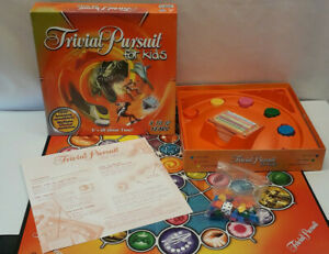 Trivial Pursuit for Kids 8-12 Years Hasbro/Parker Complete VGC