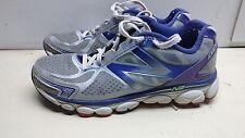 New Balance W1080V5 Women Synthetic Lace Gray Sport Running Sneaker Shoe 9M 40.5