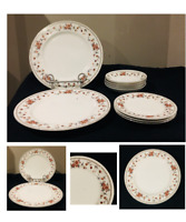 VINTAGE Sheffield Fine China ANNIVERSARY Pattern 9-Piece Set JAPAN