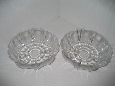 Dessertschale Glasschale Kristalldesign 2 Stück rund