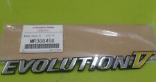 MITSUBISHI LANCER EVOLUTION V BADGE MR388458 CP9A EVO5 MORE SPARES? CONTACT US!