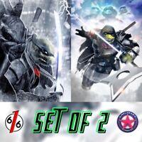 🚨🐢🔥 TMNT THE LAST RONIN #1 HAL LAREN SET OF 2 Exclusive Variants Ltd 250