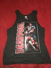 Marvel Deadpool Tank Top Size Large