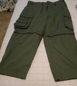 BSA Boy Scouts of America Switchback Pants Adult Size 40 Cargo Uniform Green