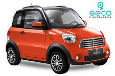 Elektro-Auto 4,5 Kw Geco M1 für 2 Personen. EEC Zulassung NEU