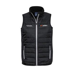 Kubota Branded Black Implements Zip Vest