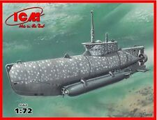 ICM 1/72 U-Boat Type XXVIIB Seehund early # S006