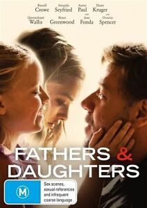 Fathers & Daughters DVD : NEW