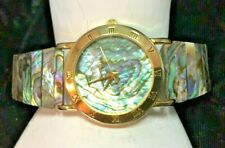 Abalone Covered Watch & Watchband #29 St. Laurent Company