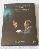 L'ORFEO di Claudio Monteverdi; DVD 2010 Intesa - Direttore Rinaldo Alessandrini