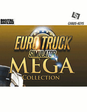 Euro TRUCK SIMULATOR MEGA COLLECTION Steam Key Pc Game Download Code Global
