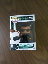 Agent Smith The Matrix #158 Funko Pop. Vaulted.