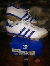 Adidas Rom Original Blanc/Bleu.gr.44 2/3 uk.10 NEUF AVEC CARTON!!!