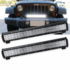 """20inch LED Light Bar Front Rear Bumper Grille Reverse Boat offroad ATV Jeep 22"""""""