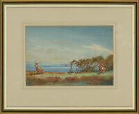 Framed Mid 20th Century Watercolour - Hunting Scene