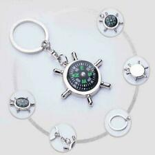 Chain High Ring Keyfob Qulit Y3L8 Fashion Compass Metal Car Keyring Keychain Key